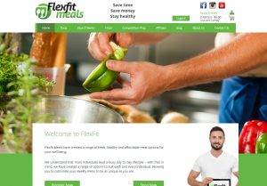 Flexfit Meals Home Page - Digital Goose